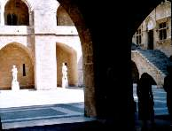 Palace of the Grand Master - courtyard interior