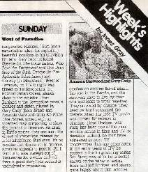 TV Times entry for the film